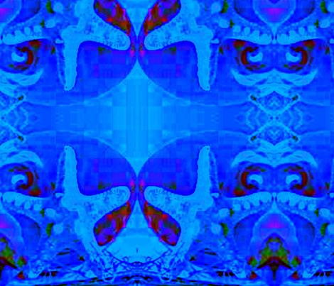 starfish wonder fabric by ann-dee on Spoonflower - custom fabric