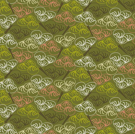 Dumpling fabric by luhaddad on Spoonflower - custom fabric