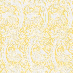 Lions & dogs yellow
