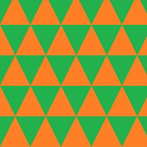 Green and Orange Triangles