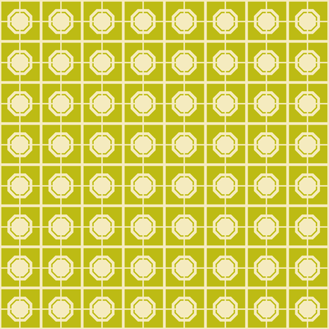 Dim Sum Screen - Cream on Bamboo fabric by rhondadesigns on Spoonflower - custom fabric