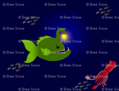 Small Green Anglerfish