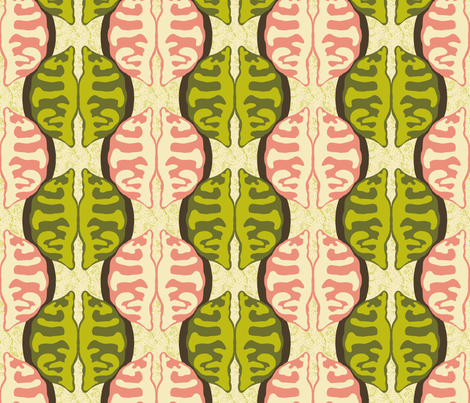 Potsticker Ogee fabric by mongiesama on Spoonflower - custom fabric