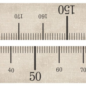 Metric Antique Measuring Tape