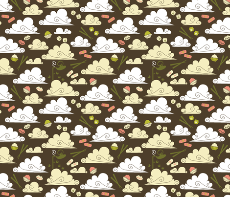 Dim Sum at Dawn fabric by ravenous on Spoonflower - custom fabric