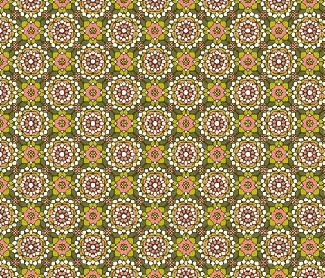 Delightful Dim Sum Mosaic fabric by inscribed_here on Spoonflower - custom fabric