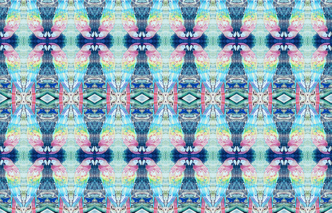 parroted fabric by ann-dee on Spoonflower - custom fabric