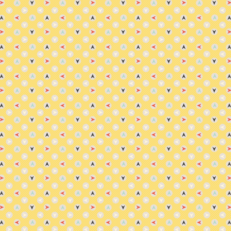 Which Way fabric by amyteets on Spoonflower - custom fabric