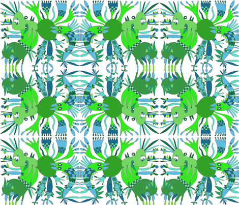 Metamorphosis fabric by minervamurga on Spoonflower - custom fabric