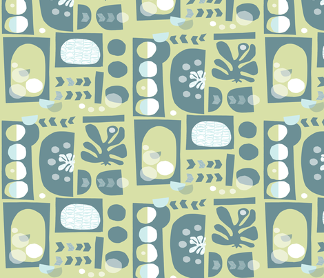 cut  #151 fabric by pattyryboltdesigns on Spoonflower - custom fabric