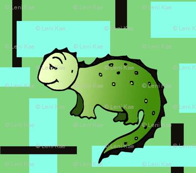 Dinosaurus Geometric