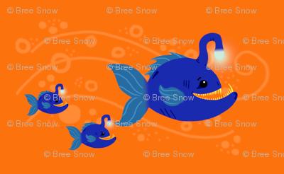 Anglerfish Family Outing