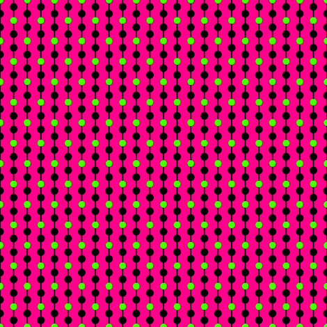pink_and_green_only_dots fabric by mammajamma on Spoonflower - custom fabric