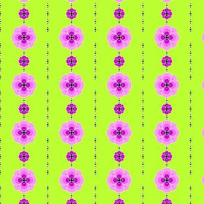 Pansies in pink