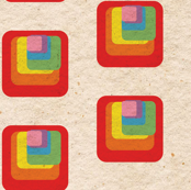 Retro Rainbow Blocks