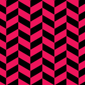 Black and Hot Pink Chevron