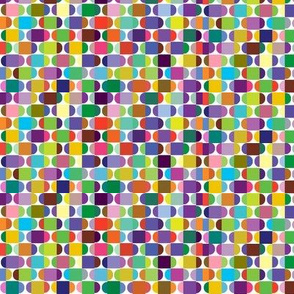 Coloured squares and circles