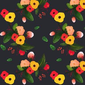 Large Floral Pattern