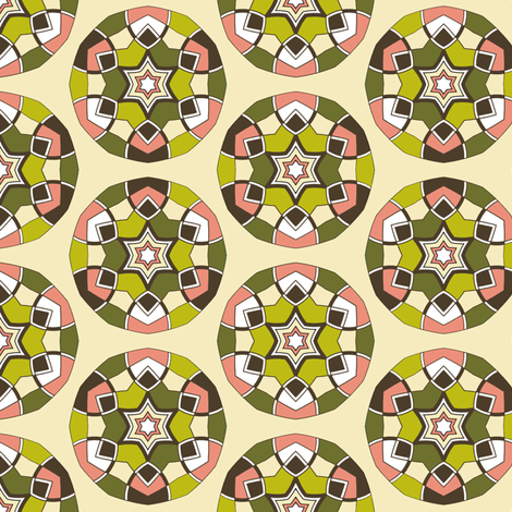 dim sum crush fabric by zendala on Spoonflower - custom fabric