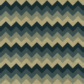 Small Chevron Dark Teal