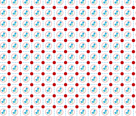 Red Dot fabric by almost_vintage on Spoonflower - custom fabric