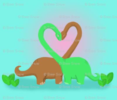 Brachiosaurus Valentine