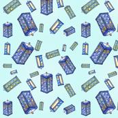 Tardis in the big blue
