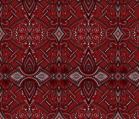 Piazzi fabric by siya on Spoonflower - custom fabric