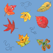 Tumbling Leaves