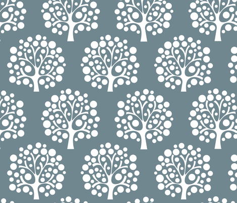 Winter fabric by addilou on Spoonflower - custom fabric