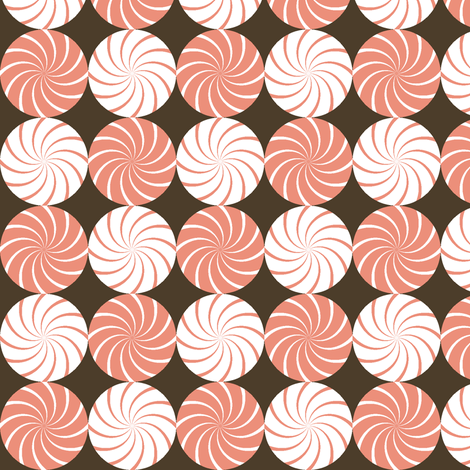 prawn balls R4 x2 fabric by sef on Spoonflower - custom fabric