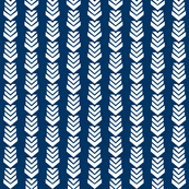 Chevron Arrow Navy