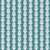 Chevron Arrow Teal
