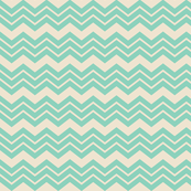 Chevron Mint Cream