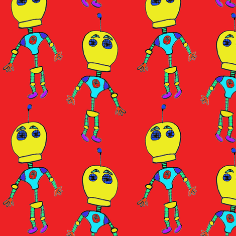 Robowe by Leif fabric by bippidiiboppidii on Spoonflower - custom fabric