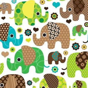 Indian elephant festival