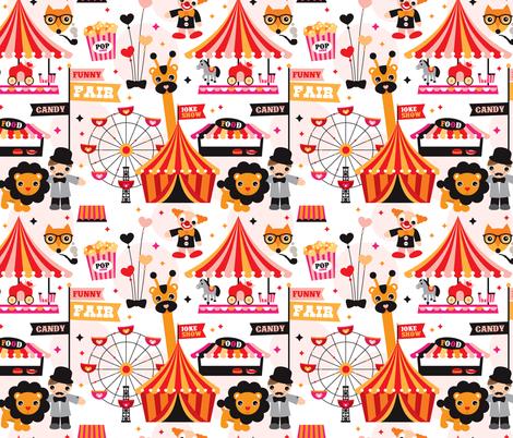 Lion circus show