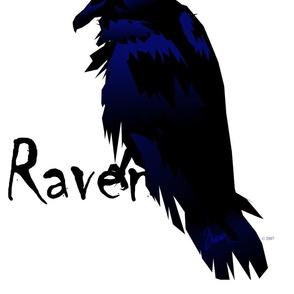 Raven on Raven Fabric