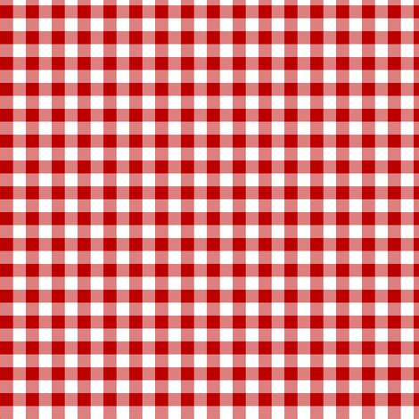 deep red gingham fabric by weavingmajor on Spoonflower - custom fabric