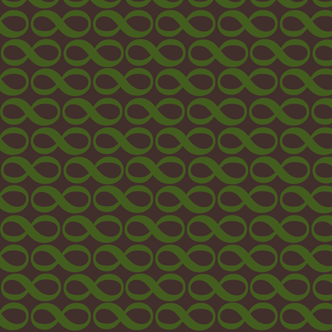 serenity infinity - autumn green fabric by weavingmajor on Spoonflower - custom fabric
