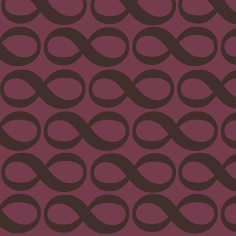 extra large infinity - autumn plum fabric by weavingmajor on Spoonflower - custom fabric