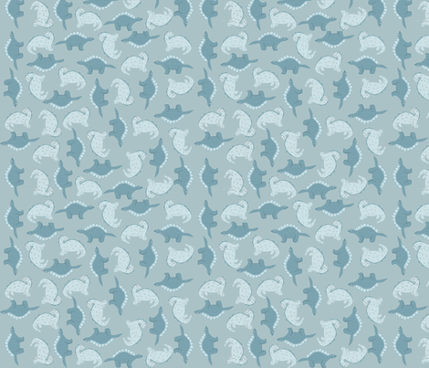The Vegetarians  fabric by van_winkle on Spoonflower - custom fabric
