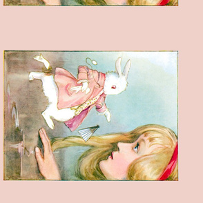 alice in wonderland bag/pillow