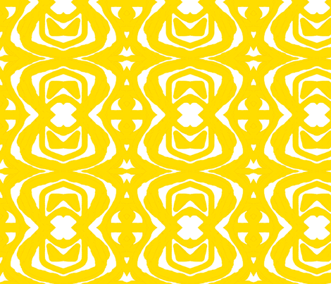 Yellow Paper Cutout