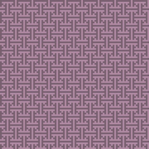 geometric purple pattern