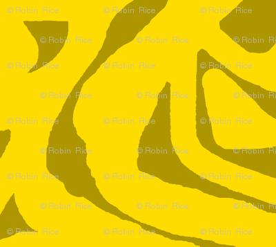 Yellow Paper Cutout 2