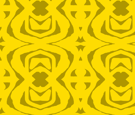 Yellow Paper Cutout 2