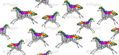 Stegasaurus Robot Horse