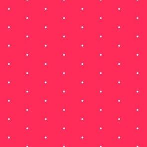 107-Tropical Pink SwissDot