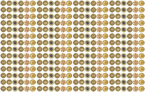 Button Circles-ed fabric by lpjones on Spoonflower - custom fabric